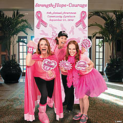 Pink Awareness Ribbon Photo Booth