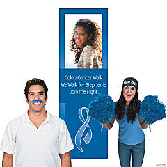 Blue Awareness Ribbon Photo Booth