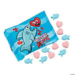 Valentine Shark Candy Fun Packs