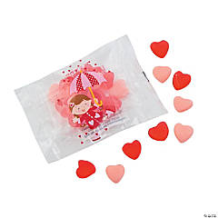 Raining Hearts Valentine Gummy Fun Packs
