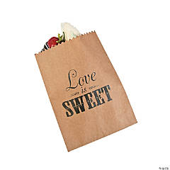 Love is Sweet Cake Bags