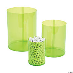 Lime Candy Buffet Cylinders