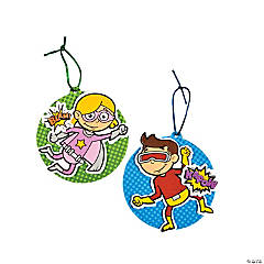 Superhero Ornament Craft Kit