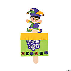 Pop-Up Mardi Gras Jester Craft Kit