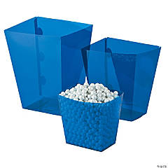 Blue Candy Buffet Buckets