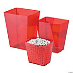 Red Candy Buffet Buckets