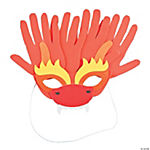 Dragon Handprint Mask Craft Kit
