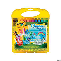 Crayola® Window Markers 'n Stencils Art Set