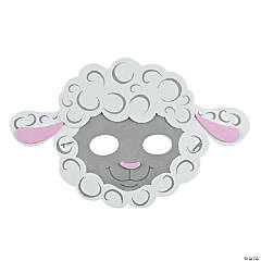 Lamb Mask Craft Kit