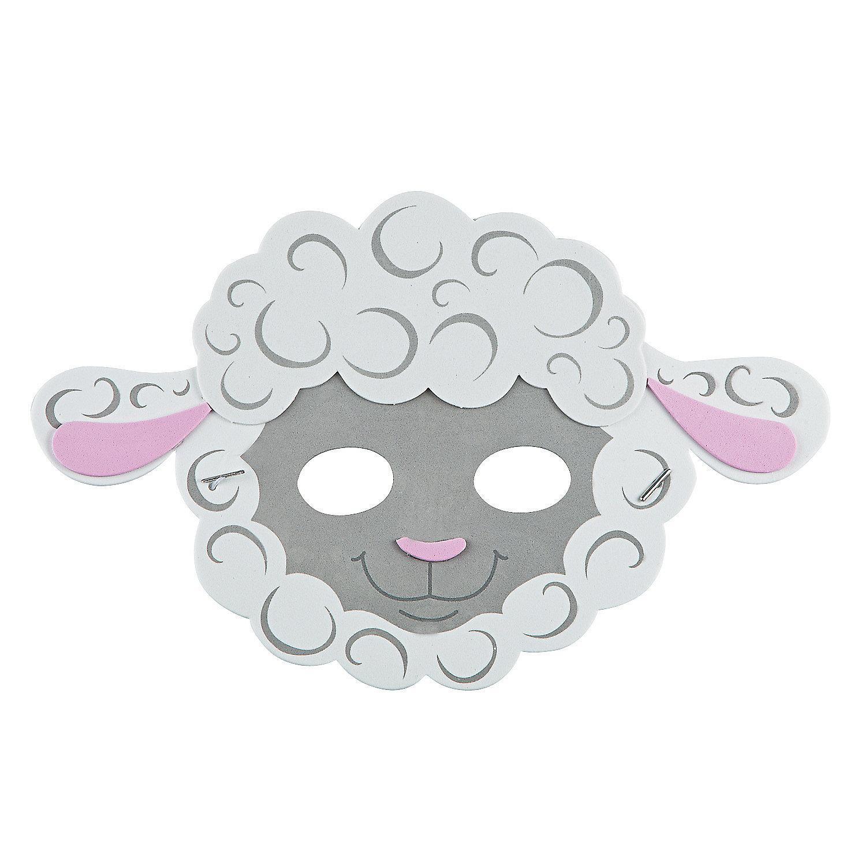 Silence Lambs Mask Lamb Mask Craft Kit