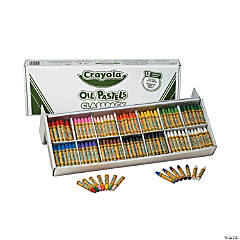 14-Color Crayola® Oil Pastels Classpack