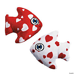 Plush Valentine Fish