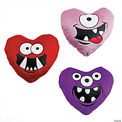 Plush Monster Hearts