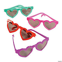 Kids' Heart-Shaped Sunglasses