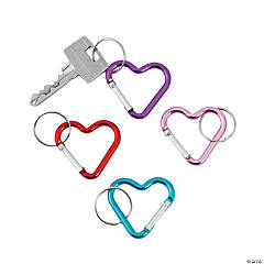 Heart Clip Key Chain Assortment