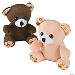 Plush Bears with Floral Accents