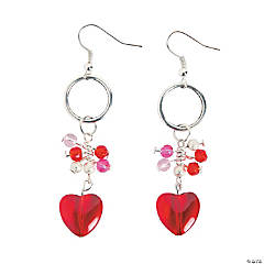 Wire Heart Earrings Craft Kit