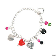 Mixed Media Love Charm Bracelet Craft Kit