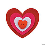 Heart Pin Craft Kit