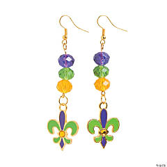 Fleur De Lis Earrings Craft Kit