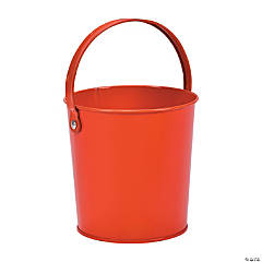 Solid Color Pails - Orange