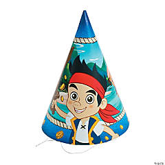 Jake and the Never Land Pirates Cone Hats
