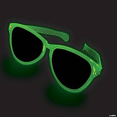 Jumbo Glow-in-the-Dark Sunglasses