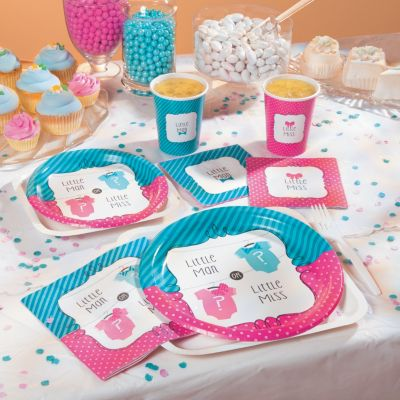 Baby reveal party theme