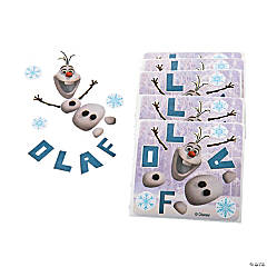 Paper Disney's Frozen Make Your Own Olaf Stickers