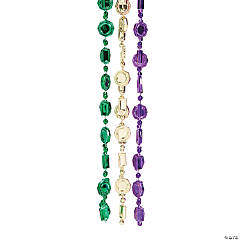 Mardi Gras Coin Beads