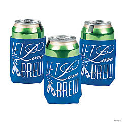 Personalized Let Love Brew Can Covers