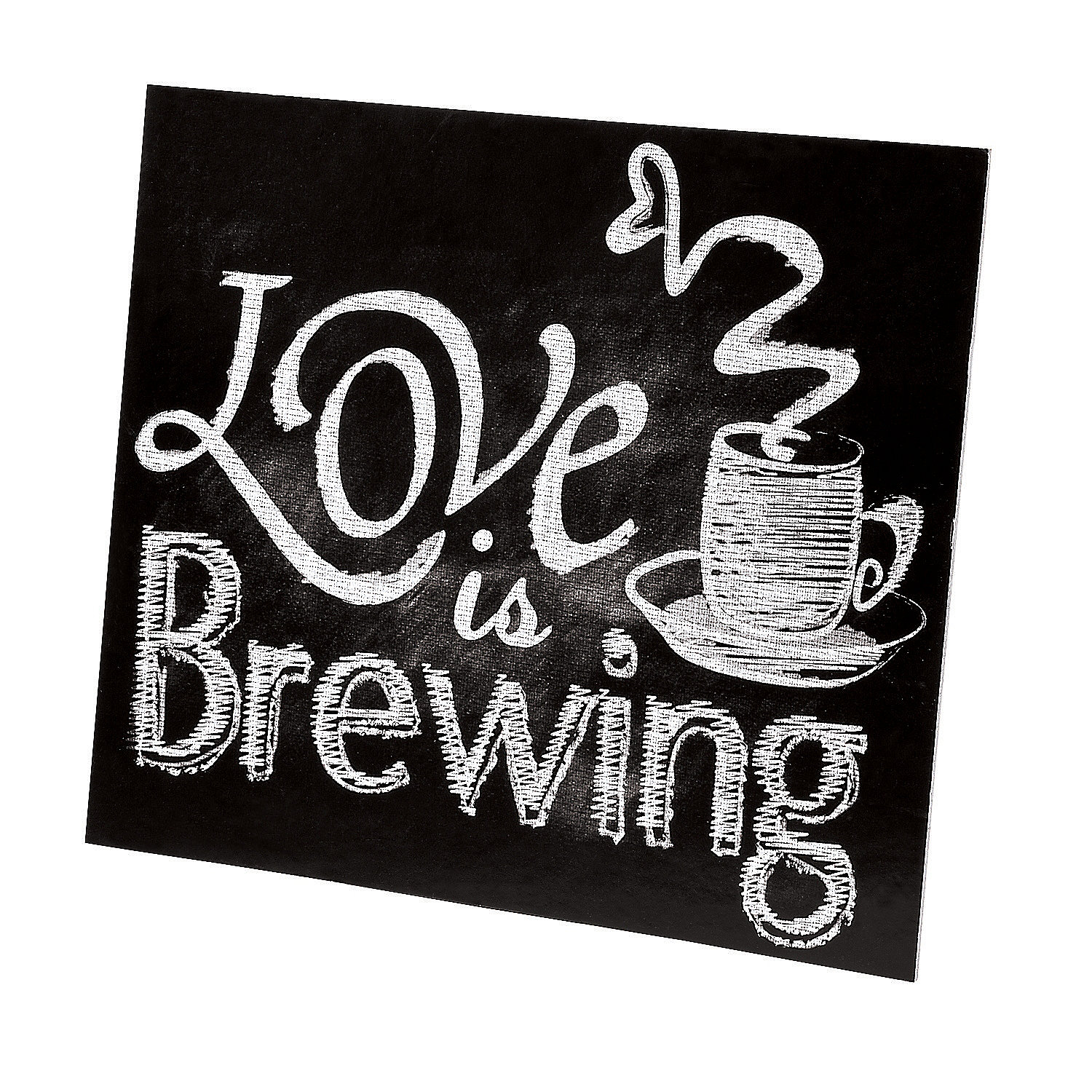 Love Is Brewing Tabletop Sign Centerpieces Party Decorations Party Supplies