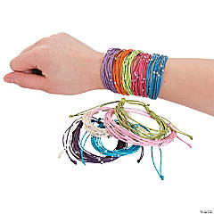 Bright Beaded Friendship Bracelets