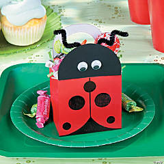 Ladybug Treat Box Idea