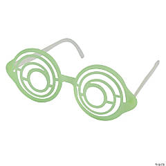 Glow-in-the-Dark Swirl Glasses