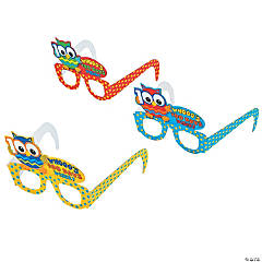 100th Day of School Owl Glasses