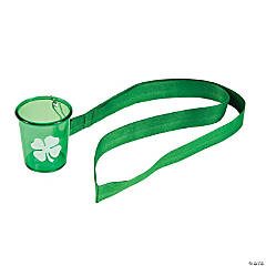 St. Patrick's Day Lanyard Shot Glasses