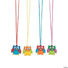 Fun Owl Necklaces
