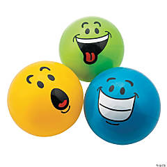 Funny Face Playground Balls