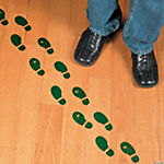 Leprechaun Footprint Floor Decals