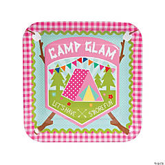 Paper Camp Glam Dinner Plates