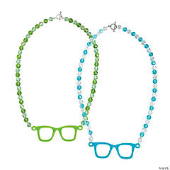 Nerdy Glasses Necklace