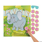 Pin the Flower on the Elephant