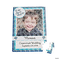 Personalized Photo Ring Bearer Puzzle