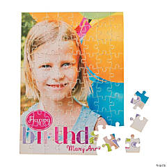 Birthday Girl Custom Photo Puzzle