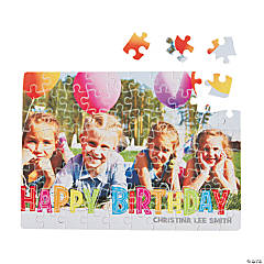 Birthday Custom Photo Puzzle