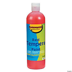 16 oz. Red Tempera Paint