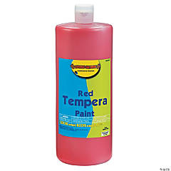 Red Tempera Paints