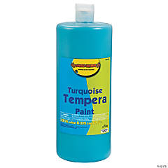 Turquoise Tempera Paints