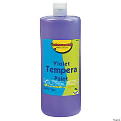 Violet Tempera Paints